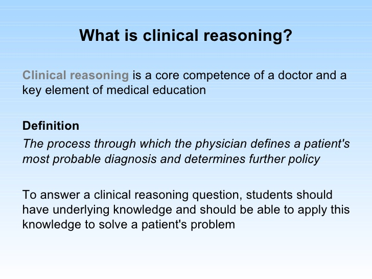 clinical-reasoning