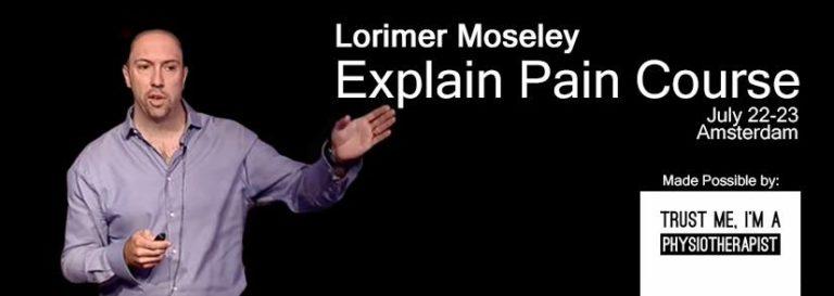 Lorimer Moseley course